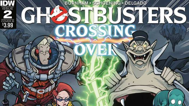 Ghostbusters: Crossing Over Issue #2
