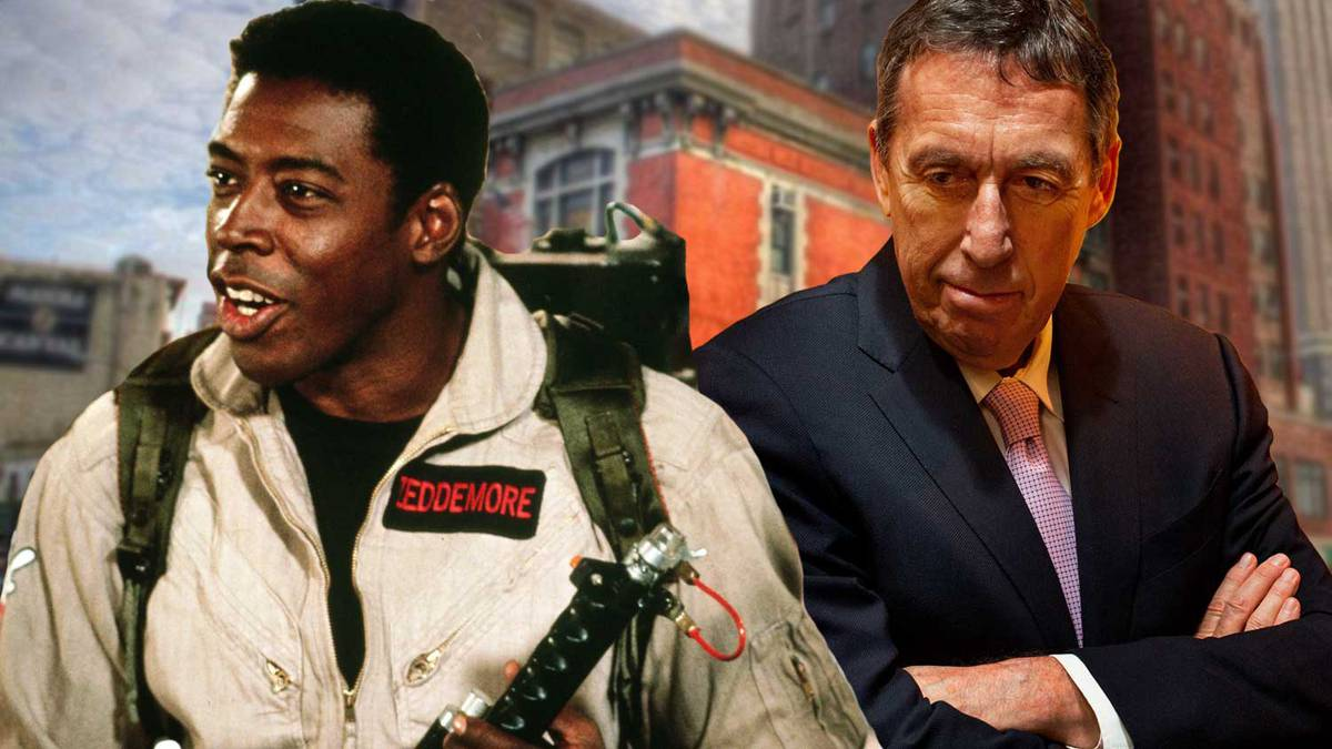 #GhostbustersLive Q&A with Ernie Hudson and Ivan Reitman