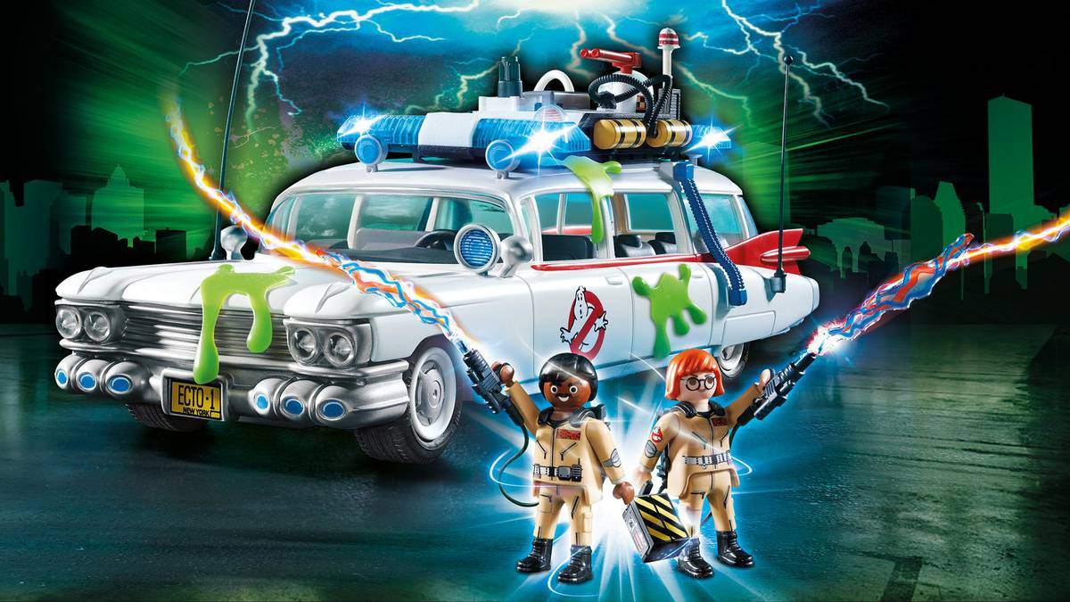 Playmobil Ghostbusters Toys Now Available