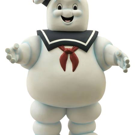 """Diamond Select Toys Ghostbusters 24"""" Stay Puft Marshmallow Man Vinyl Bank"""