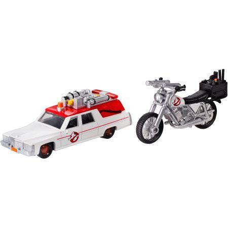 Ghostbusters ECTO-1 and ECTO-2 Vehicles