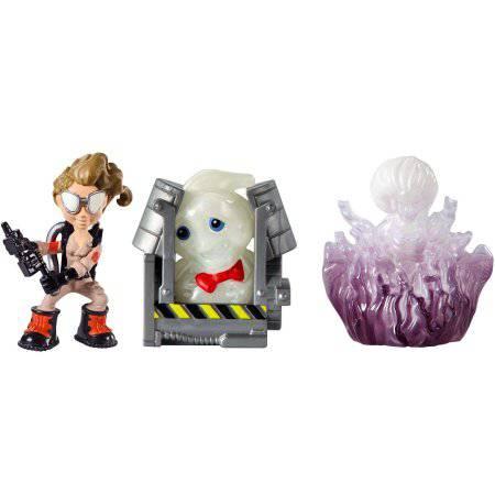 Ghostbusters Jillian, Rowan in Trap, and Gertrude Ghost Mini Figure 3-Pack