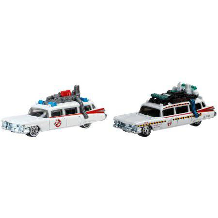 Hot Wheels Ghostbusters Vehicle, 2pk