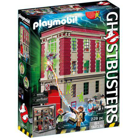 PLAYMOBIL Ghostbusters Firehouse Playset