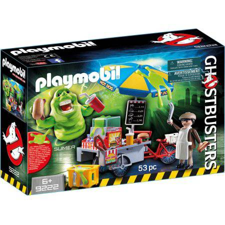 PLAYMOBIL Ghostbusters Slimer with Hot Dog Stand Playset