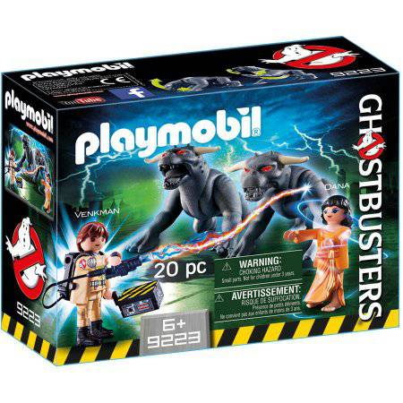 PLAYMOBIL Ghostbusters Venkman and Terror Dogs Playset