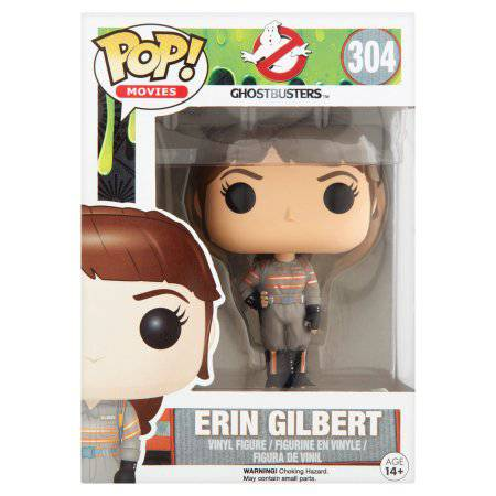 Pop! Movies Ghostbusters 304 Erin Gilbert Vinyl Figure Age 14+