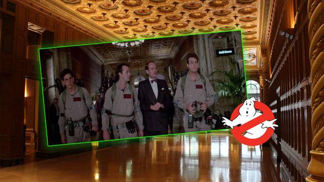 35 YEARS LATER: Touring the hotel from Ghostbusters