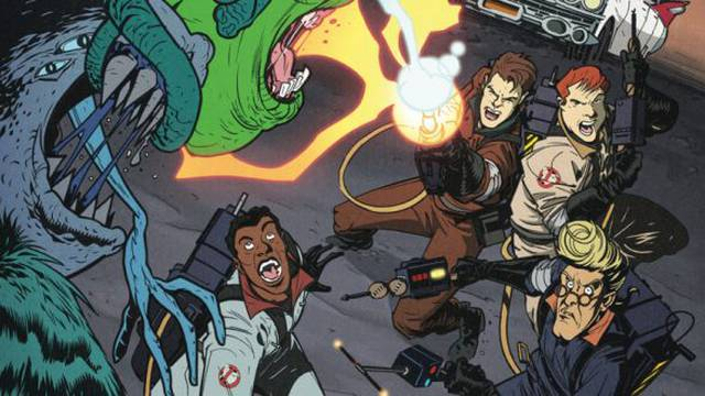 35th anniversary comic event continues today with the release of The Real Ghostbusters!