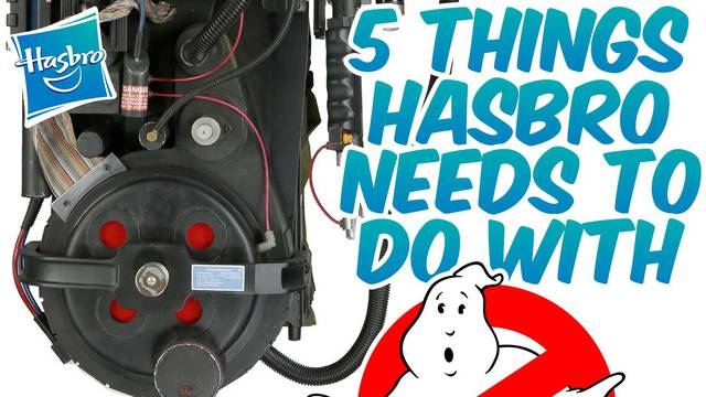 5 things Hasbro needs to do with the Ghostbusters toyline!