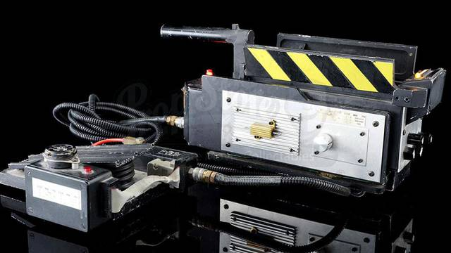 A film used ghost trap from both Ghostbusters films just sold for nearly $250,000!