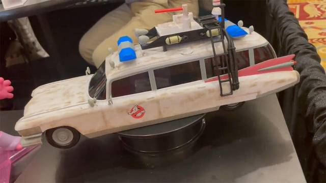 A Ghostbusters: Afterlife Ecto-1 popcorn tub is coming to theaters this November!