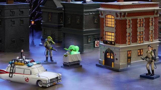 A Ghostbusters Halloween/Christmas village is coming out later this year
