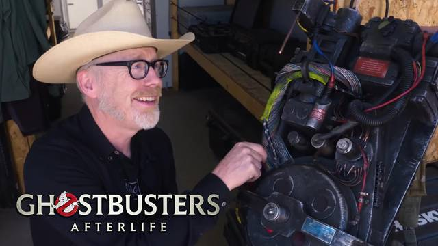 Adam Savage inspects Ghostbusters: Afterlife's hero props!