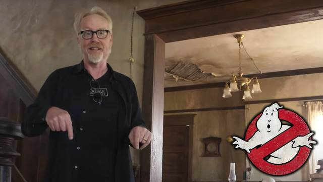 Adam Savage tours Ghostbusters: Afterlife's farmhouse set + reveals Easter eggs!