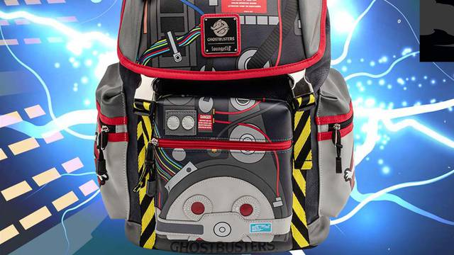 An incredible Ghostbusters Proton Pack Backpack is coming soon from Loungefly!