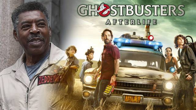 """Another Ghostbusters film? Ghostbusters: Afterlife star Ernie Hudson has """"heard rumors they're writing a new one"""""""