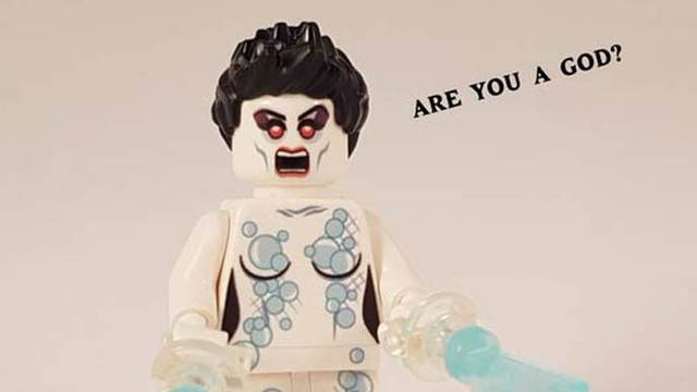 AVAILABLE NOW: Custom Gozer the Gozerian Lego figure