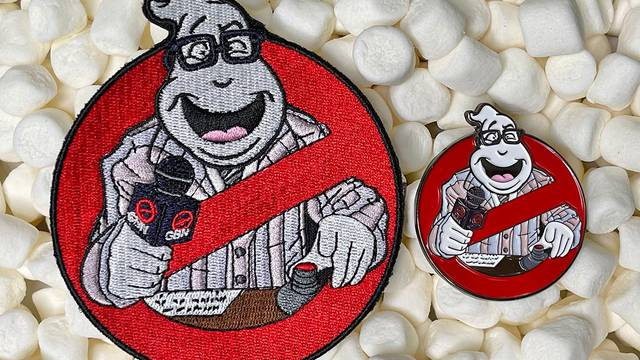 AVAILABLE NOW: Ghostbusters News Patches & Pins!
