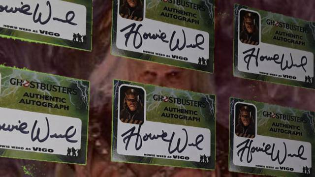 AVAILABLE NOW: Two new Ghostbusters 2 autograph cards!