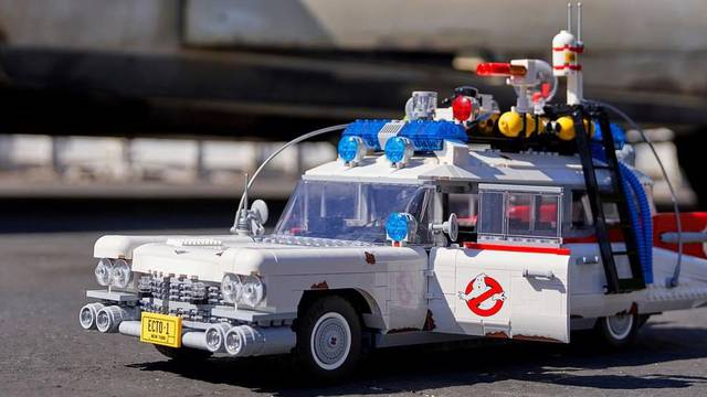 AVAILABLE TODAY: LEGO's NEW Ghostbusters Ecto-1 set!