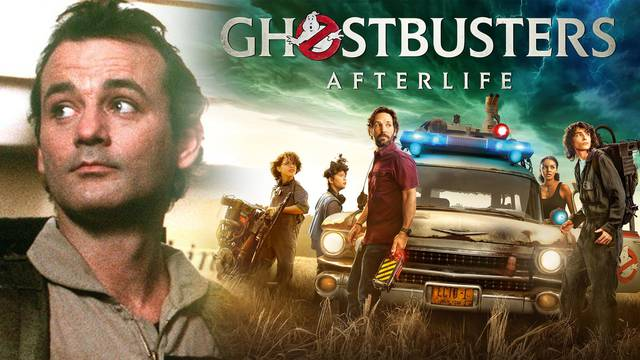Bill Murray's reaction to Ghostbusters: Afterlife's Proton Packs is priceless!