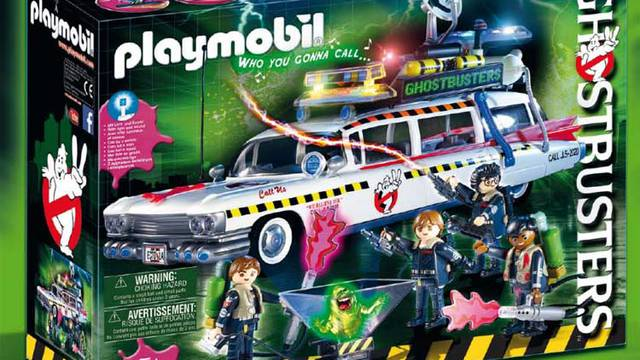 Box arts released for upcoming Ghostbusters Playmobil sets