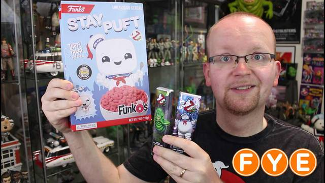 Brand new Ghostbusters items available at FYE + TASTE TEST!!!