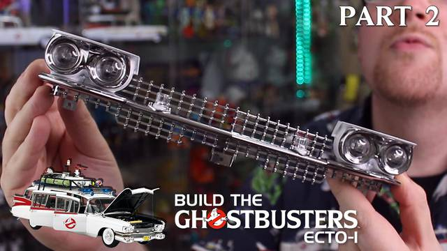 Build the Ghostbusters Ecto-1 – Part 2