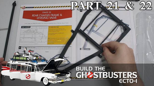 Build the Ghostbusters Ecto-1 – Part 21 & 22