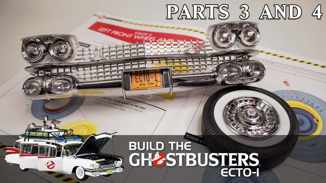 Build the Ghostbusters Ecto-1 – Part 3 and 4