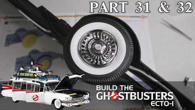 Build the Ghostbusters Ecto-1 – Part 31 & 32