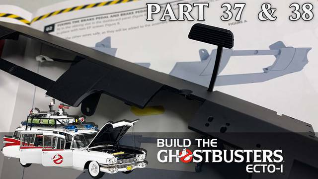 Build the Ghostbusters Ecto-1 – Part 37 & 38