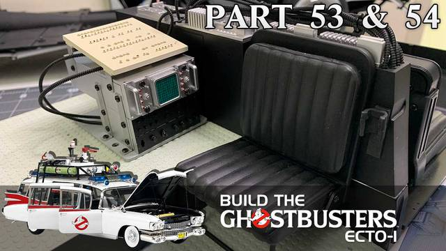Build the Ghostbusters Ecto-1 – Part 53 & 54