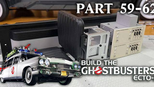 Build the Ghostbusters Ecto-1 – Part 59 – 62