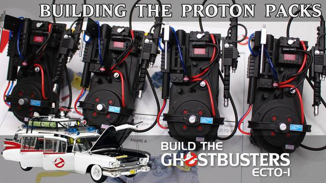 Building 3″ Proton Packs! (Build the Ghostbusters Ecto-1)