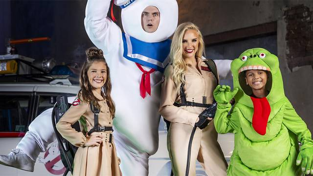 Check out HalloweenCostumes.com's Ghostbusters items in this new photoshoot!