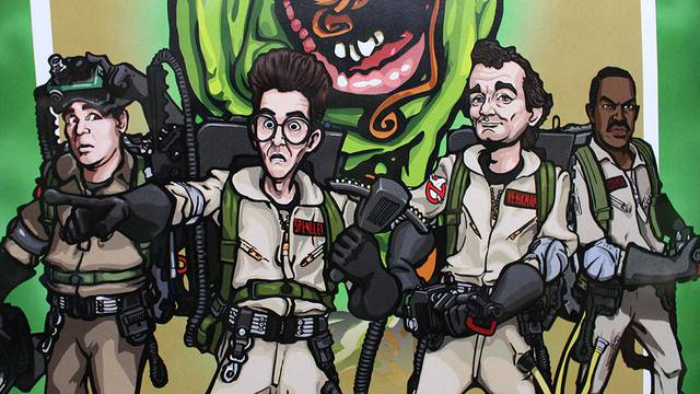 Check out this AMAZING Ghostbusters gift we received from Weta Workshop!