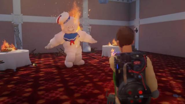 Check out this fan-made Ghostbusters game made within PS4 exclusive Dreams