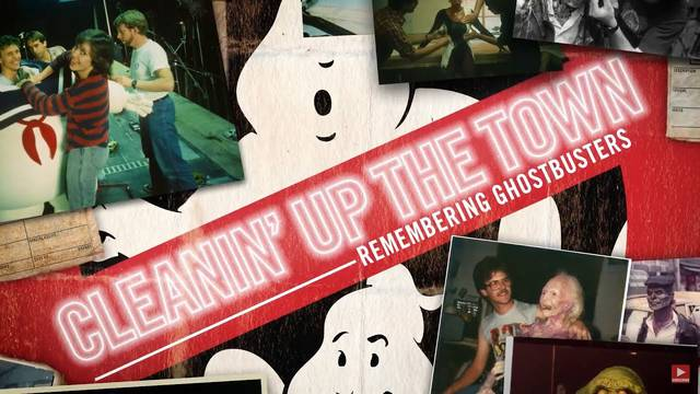 Cleanin' Up The Town: Remembering Ghostbusters now streaming via YouTube Canada!