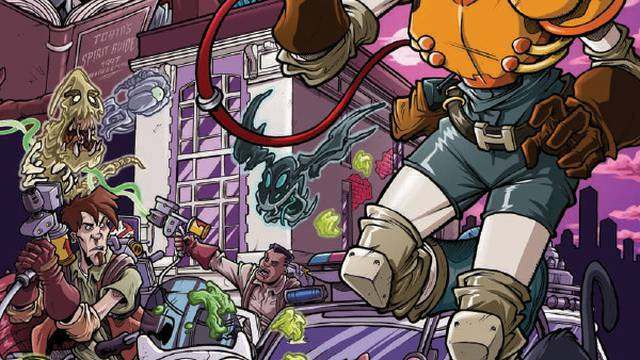 Comic Book Preview - Ghostbusters: 35th Anniversary: Extreme Ghostbusters - Flickering Myth