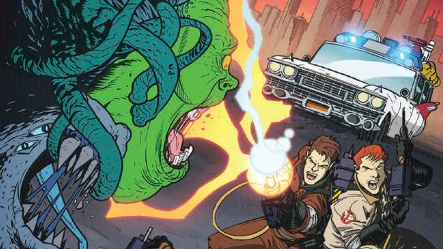 Comic Book Preview - Ghostbusters: 35th Anniversary: The Real Ghostbusters - Flickering Myth
