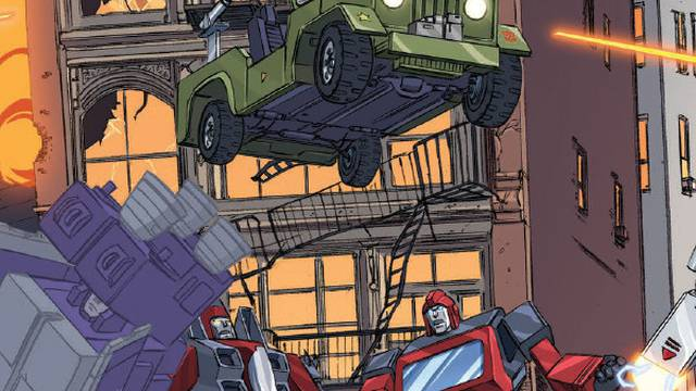 Comic Book Review – Transformers/Ghostbusters #2 - Flickering Myth