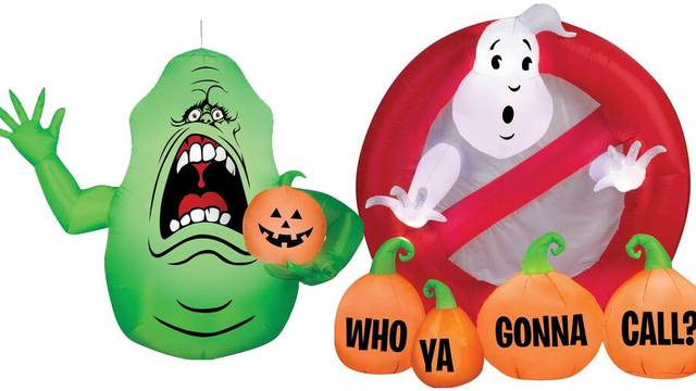COMING SOON: New Ghostbusters inflatable lawn decorations