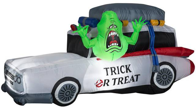 COMING SOON: New inflatable Ecto-1 with Slimer
