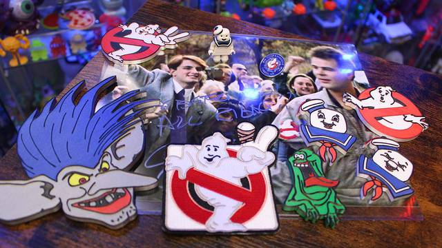 Custom Ghostbusters LEGO figure, magnets, patches, and more! (Fan Mail Friday)