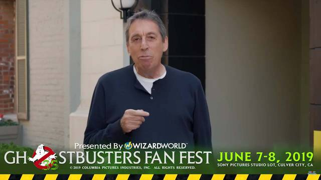 Director Ivan Reitman wants to see YOU at Ghostbusters Fan Fest