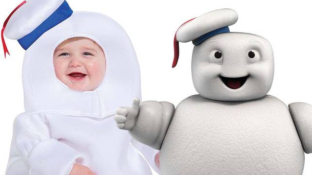 Dress your child up as a Ghostbusters: Afterlife Mini-Puft this Halloween!