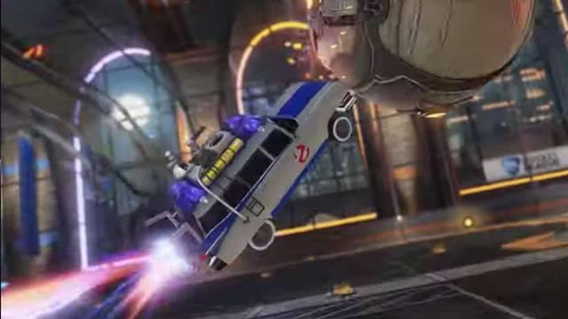 E3 2019: Rocket League® - Ghostbusters Ecto-1 Car Pack Trailer - GameSpot