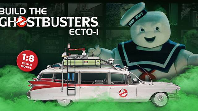 Eaglemoss Hero Collector Build The Ghostbusters Ecto-1 Model Subscription Review - Issue #20